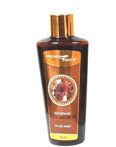100% PURE BLACK CASTOR OIL FOR HAIR & EYEBROW GROWTH /HAIR LOSS TREATMENT 150ML