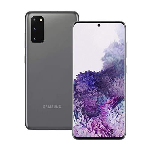Samsung Galaxy S20 5G 128GB – Cosmic Grey – Unlocked (Renewed)
