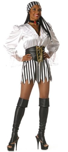 Premier Pirate's Booty Costume - Womens Large - Adult Premier Pirate Costumes