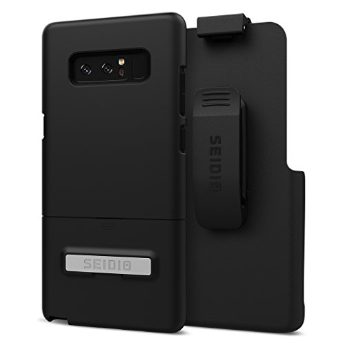 Seidio Surface Combo Case for Samsung Galaxy Note 8 - Black/Black ()