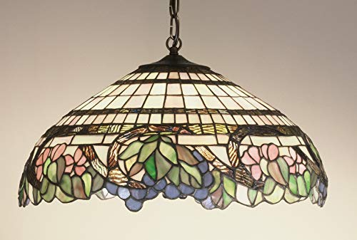 Light Three Grapevine Tiffany - Meyda Tiffany 32176 Lighting, 18