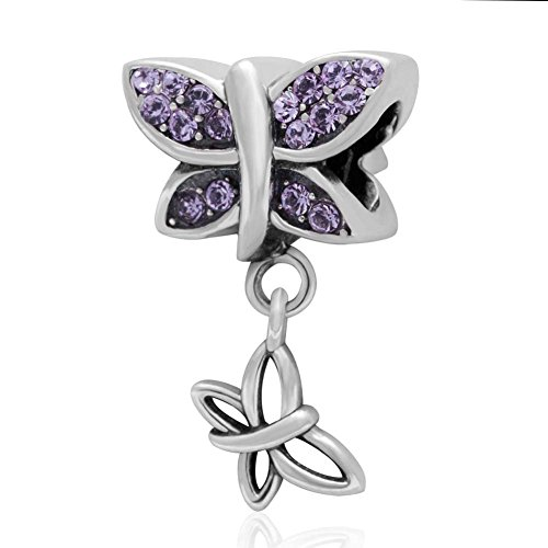 Butterfly Australian Crystals Sterling Bracelet product image