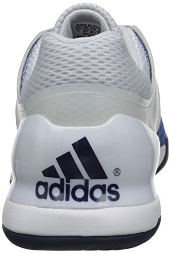Adidas Performance Mænds Adizero Ubersonic Tennissko Hvid / Kollegiale Flåde / Blå XyNUQsb