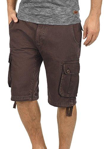 Bean 5973 Cargo Cortos Regular Coffee Bermudas 100 fit Pantalones Pantalón Para Vizela De Algodón solid Hombres qpwTZ6w