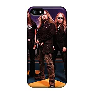 Shockproof Hard Phone Cases For Iphone 5/5s (aGu1331XptI) Provide Private Custom Attractive Lullacry Band Pattern
