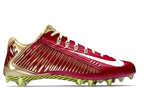 NIKE Vapor Carbon Elite TD Mens Football Cleats Red/Gold eastbay online aQT6Cno