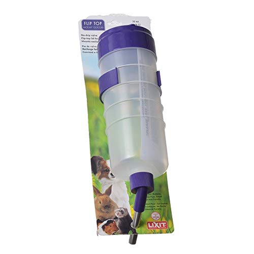 Lixit Quick Lock Flip Top Water Bottle with Valve 32 oz