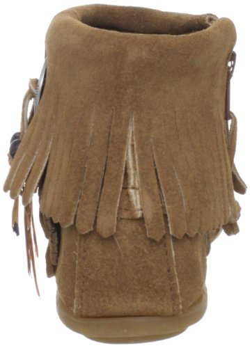 Feather Minnetonka Concho Taupe Boot Minnetonka Concho 7YqFn8OWt8