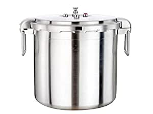 Buffalo Stainless Steel 32-Quart Pressure Cooker [Commercial series]