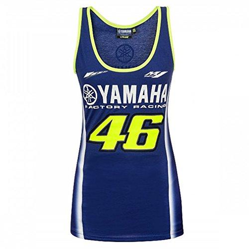 (Valentino Rossi VR46 MotoGP M1 Yamaha Racing Team Women's Tank Top Official)