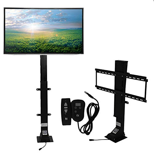 "(Touchstone Valueline 30004 Motorized TV Lift with Remote Control for Large Screen 32-70 inch TVs, 36"" Height Adjust, 170 lb. Capacity, Height Memory, Flat-Lid Mount, RF & Wired Remote)"