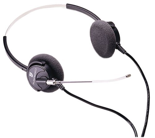 Plantronics Supra Binaural Headset Includes 1 Extra Voice Tube (Renewed) ()