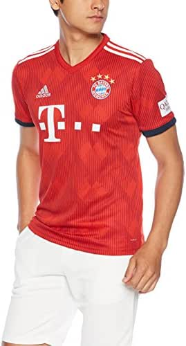 adidas 2018-2019 Bayern Munich Home Football Soccer T-Shirt Jersey