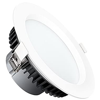 Aglaia 25W 6 Inch LED Retrofit Recessed Lighting Fixture, 6500K Cool White LED Down Light, 2050LM, Energy Saving LED Ceiling Light, Not Dimmable