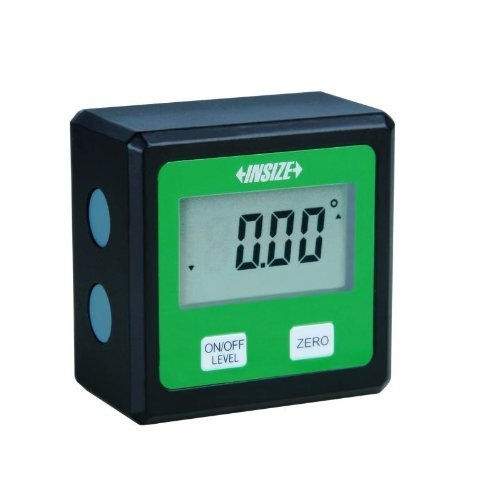 INSIZE 2177-2 Electronic Level and Protractor, 0-360 Degree, 90 Degree x 4 Degree