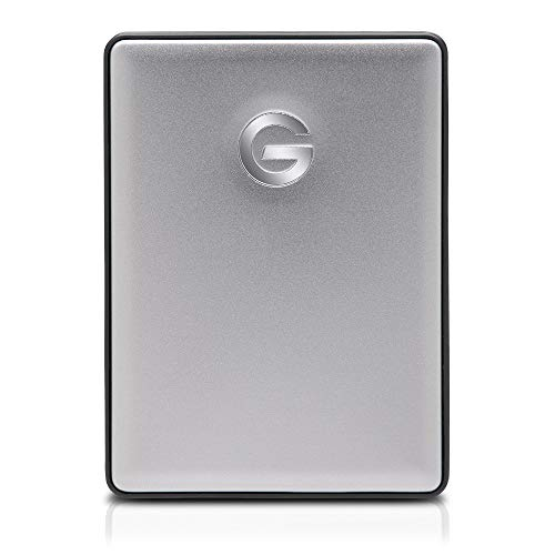 G-Technology G-DRIVE mobile USB-C 2TB Space Gray 0G10317 by G-Technology