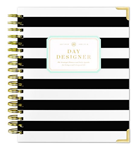Day Designer Daily Planner 2018-19 | Original Flagship | Best Day Planner | Goal Setting | Time Management | Productivity | 9