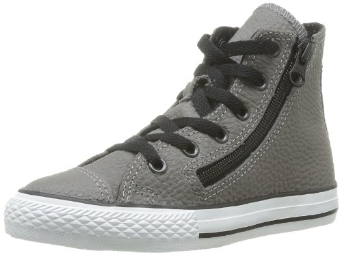 Converse Chuck Taylor All Star Rock Dz Hi, Baskets mode mixte enfant Gris (Anthracite)