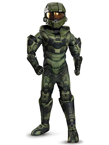 Master Chief Prestige Costume, Small (4-6)