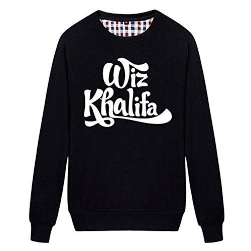 Chimpanzee Wiz Khalifa Logo Sweatshirt (Black - Khalifa Shop Wiz