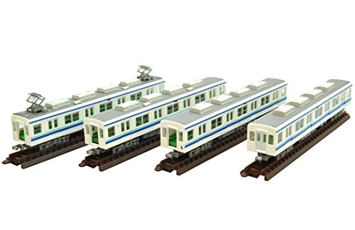 Railway collection Tobu Railway 8000 system update car 8175 organized intermediate wheel 4-Car Set