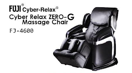 Amazon.com: Fujiiryoki FJ 4600 Dr. Fuji Cyber Relax 3D ZERO GRAVITY Super  Deluxe Massage Chair, Black: Health U0026 Personal Care