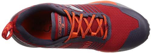 Brooks Uomo 636 Sportive Rosso Cascadia grey orange Scarpe red 13 qRxrOICwqp