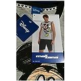Massana - Pijama Mickey Mouse MASSANA Sin Mangas Hombre Disney Tallas S-XL - GRIS
