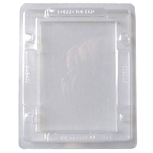 10 Estuches Clamshell de Plastico para SSD/HDD 2.5 pulgadas
