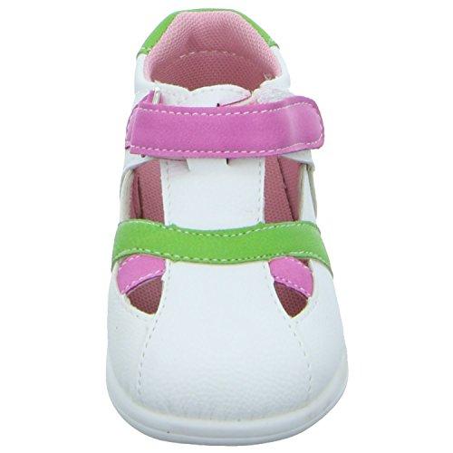 Tortuga 1476 Mädchen Babyschuhe Kaltfutter Weiß (Weiß)