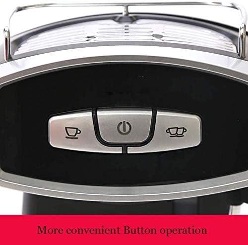 Machine à café espresso 850W capacité 1.2L 19bar, faire mousser mousseur mousse de lait pour Grinder