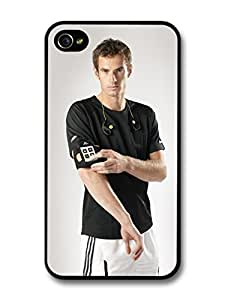 AMAF ? Accessories Andy Murray Serious Black Scottish Tennis Player case for iPhone 5/5s
