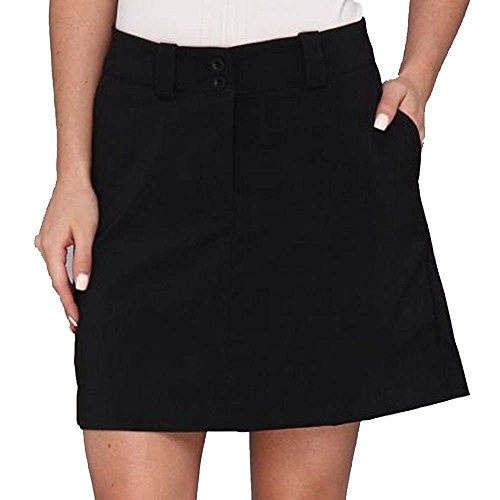 Women's Dri-FIT Modern Rise Long Tech Golf Skort 828274 010 (4)