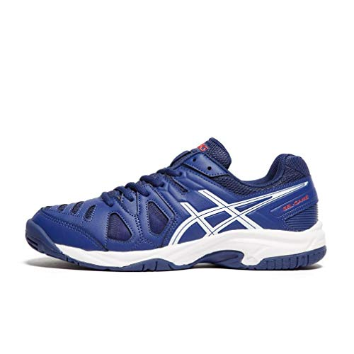 blue white Gel 5 game Print Chaussures Multicolore Tennis De Asics Garçon 400 f1qRxgg