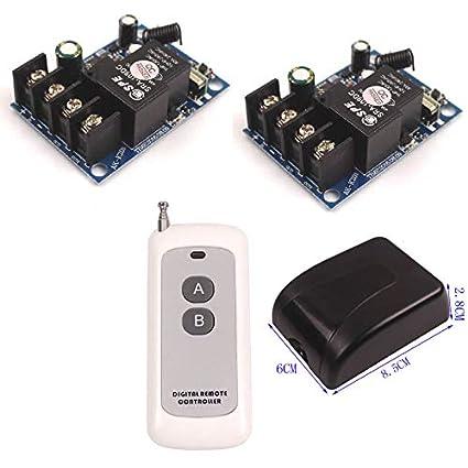 40A 12V 24V 36V 48V 1CH Channel Wireless Relay Switch Remote
