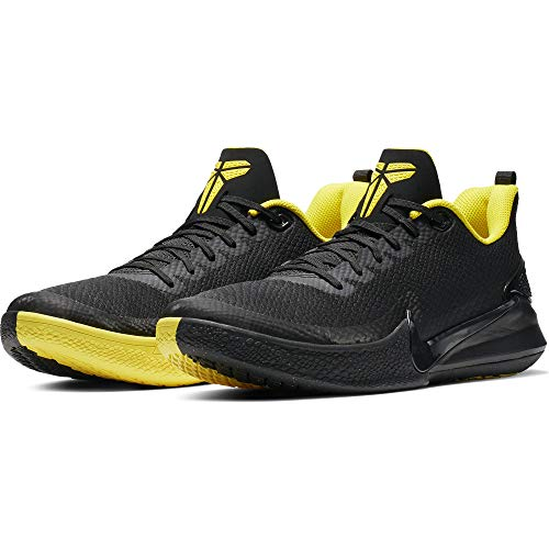 fee67360 Nike Men's Kobe Mamba Rage Basketball Shoe Black/Anthracite/Opti Yellow  Size 10.5 M US