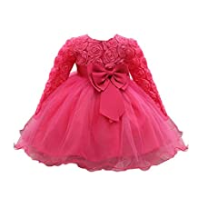 Tenworld Flower Baby Girl Princess Dresses Bridesmaid Wedding Party Pageant Dress