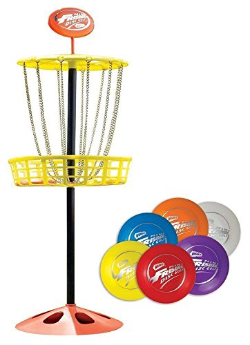 Wham O Mini Frisbee Golf Disc Indoor Outdoor Toy Set Kids Game Beach Family New, Rocket Science Toys, 2018