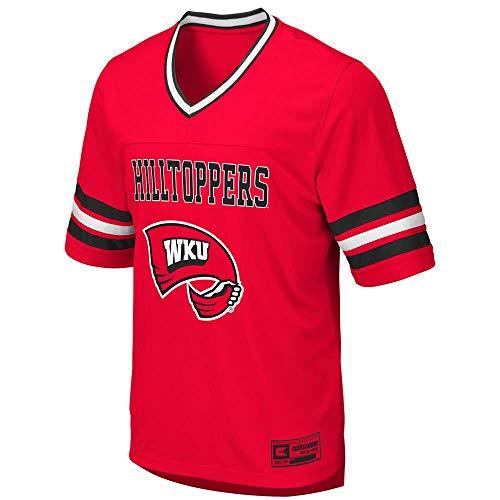Colosseum Mens WKU Western Kentucky Hilltoppers Football Jersey - L