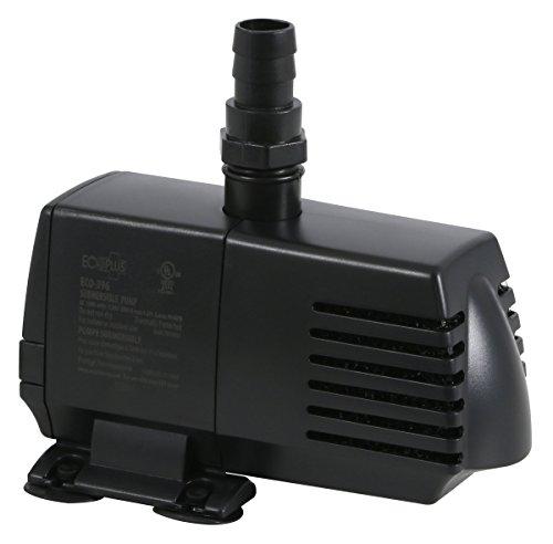EcoPlus Fixed Flow Submersible/Inline Water Pump - 396 GPH
