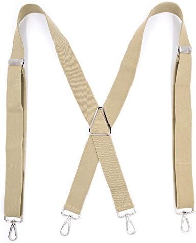 UMEE Tirantes Pantalones El/ásticos Color Puro Traje De Escena Ropa Para Unisex Longitud Ajustable Caballero Ceremonia De La Boda
