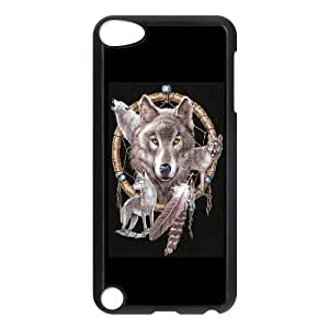 LZHCASE Design Phone Case Wolf Dream Catcher For Ipod Touch 5 [Pattern-1]