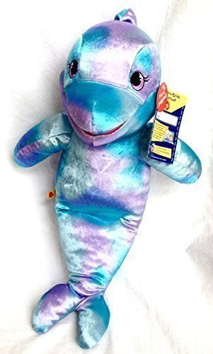 Amazoncom Build A Bear Workshop Sea Splash 16 Plush Dolphin Toys