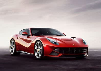 Ferrari F12 Berlinetta Poster Red Car Sports Car A3 Poster Print Picture Art Amazon De Küche Haushalt