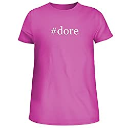Dore Cute Womens Junior Graphic Tee Fuchsia X Large