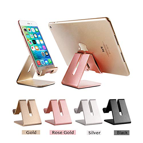Mr. Spades-Cell Phone Stand, Phone Dock,Phone Holder:Cradle Holder Stand Compatible with Switch, All Android Smartphone, Phone 6 6s 7 8 X Plus 5 5s 5c XS Max XR Charging, Accessories Desk - Pink