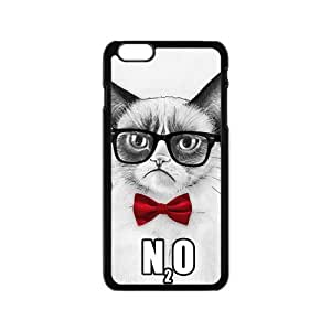 iPhone 6 Hard Case, Grumpy Cat Snap-on Protective Hardshell Cover Case for iPhone 6 (4.7 inch) wangjiang maoyi
