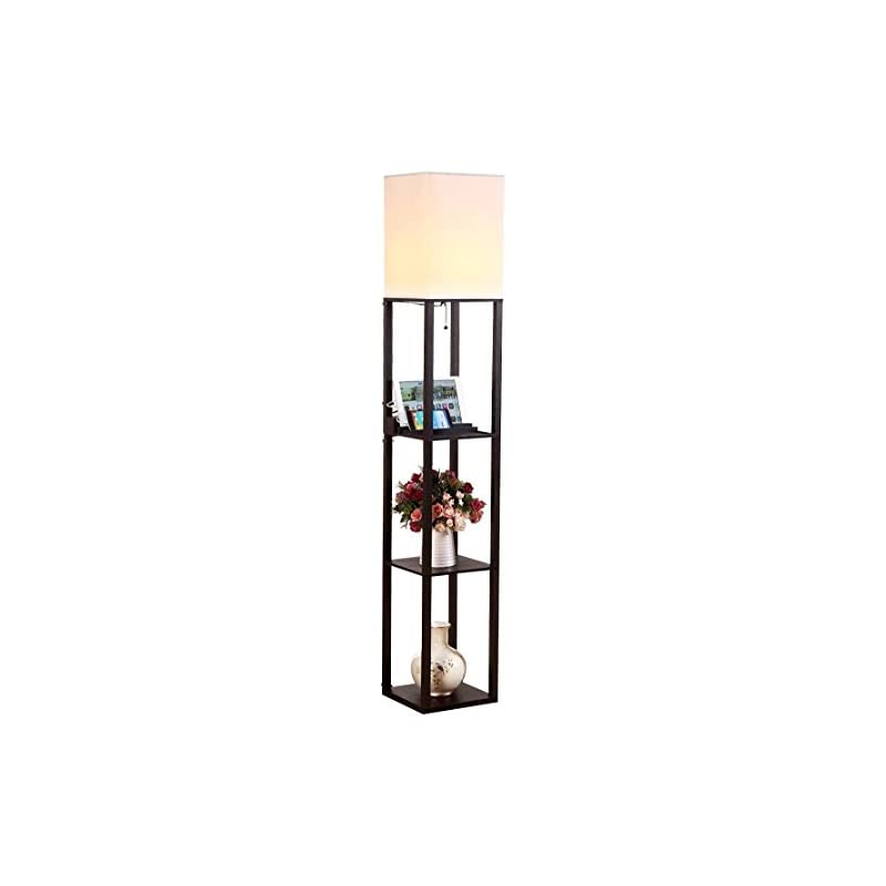 Bathroom Fixtures Led Shelf Floor Lamp Modern Standing Light Display Shelves For Living Rooms Bedrooms