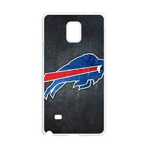 Buffalo Bills Samsung Galaxy Note 4 Cell Phone Case White 218y3-199344