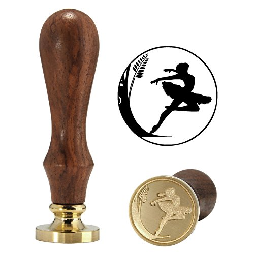 r Wax Stamp, Yoption Vintage Retro Elegant Ballet Dancer Wax Stamp, Great for Embellishment of Cards Envelopes, Invitations, Wine Packages,Ideal Gift (Ballet Dancer #2) ()